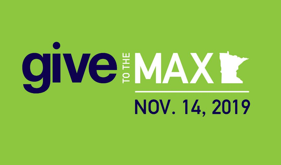 Nov 14th – Give to the Max Day
